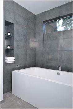 Charcoal Floor Bathroom   Google Search