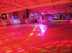 Roller rinks were a typical weekend destination with Your friends!
