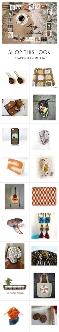"""""""Lazy Monday: Handmade & Vintage Gift Ideas"""" by paulinemcewen ❤ liked on Polyvore featuring interior, interiors, interior design, home, home decor, interior decorating, Verso, rustic, vintage and country"""