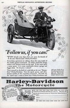 Vintage Harley-Davidson Ad