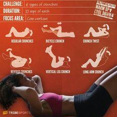 6 ćwiczeń na piękny brzuch