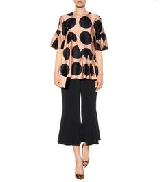 Stella McCartney - Printed silk blouse - mytheresa.com