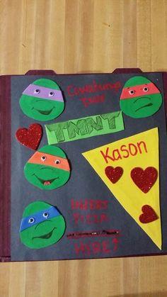 New Ninja Turtles Valentines Day