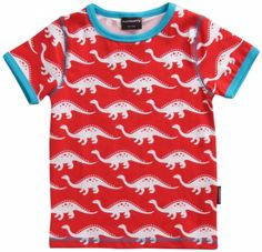 Maxomorra Dino Short Sleeved T-shirt