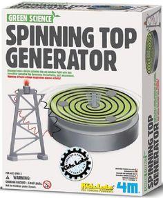 Green Science, Spinning Top Generator 4M Kit Kidz Labs
