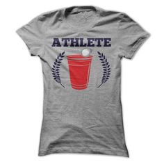 Athlete - Beer Pong T Shirt, Hoodie, Sweatshirt. Check price ==► http://www.sunshirts.xyz/?p=144301