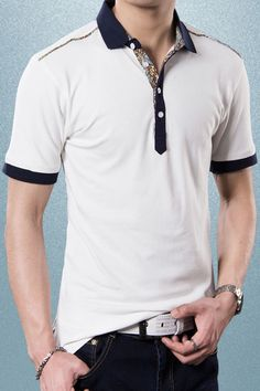 Update your casual look with a fashion Polo Shirt from Liverpool Private Reserve. A master of transforming simple designs with a contemporary twist, we have a wide range of mens tees on offer. Look to this polo shirt as an example of his ability to update a classic. Pair with jeans or chinos and layer over a jumper on chillier days. This polo is a versatile addition to any wardrobe. #MansWear