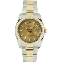 Rolex Mens New Style Heavy Band Stainless Steel & 18K Gold Datejust Model 116233 Oyster Band Fluted Bezel Champagne Stick Dial: http://watches.cybermarket24.com/rolex-mens-new-style-heavy-band-stainless-steel-18k-gold-datejust-model-116233-oyster-band-fluted-bezel-champagne-stick-dial/