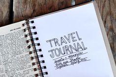 Travel journal 3