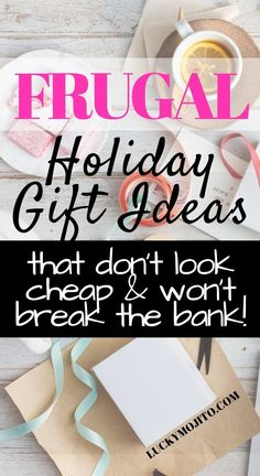 Looking for cheap Christmas gift ideas that look expensive, but won't break the bank? Here is a simple list of super affordable gifts for him, her, and them that are sure to impress. Some are even under $10!  #howtosave #holidays #budget #frugal #shopping #savings #savemoney #debtfree #budgeting #giftguide #giftideas