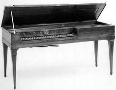 Square Piano Anton Vatter Date ca. 1800