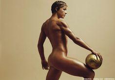 Abby Wambach in ESPN: The Body Issue