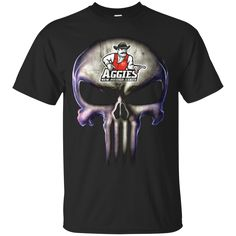 The Punisher T shirts New Mexico State Aggies Hoodies Sweatshirts