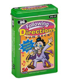 Look at this Following Directions Fun Deck on #zulily today!