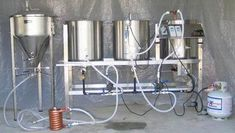 Resultado de imagen para build all grain brewing system Nano Brewery, Home Brewery, Brew Stand, All Grain Brewing, Brewery Design, Beer Brewing Kits, Home Brewing Equipment, Brew Pub, Beer Recipes
