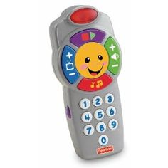 Fisher-Price Laugh & Learn Click 'n Learn Remote #remote #christmas #toys #birthday  http://www.InTheWind.org