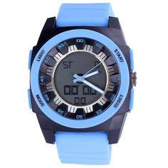 Llévalo por solo $43,800.Reloj Digital Shhors analógica multifunción resistente al agua exhibición doble de Deportes.