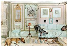 Lazy Nook — Carl Larsson | biblioklept