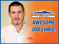 "Richard from Bear, DE had this to say about our Drain Technician, Chris Colucci: ""Unequivocally, one of the best service we have ever seen or experience. In today's service world, this kind of service is unheard of, added to the fact that we felt it was a fair price for the work done. Thanks Horizon.  I will definitely keep your phone on speed dial. I absolutely will recommend Horizon to my friends and family."""