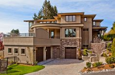 Lochwood-Lozier Custom Home in Kenwood Park - contemporary - Exterior - Seattle - Lochwood-Lozier Custom Homes