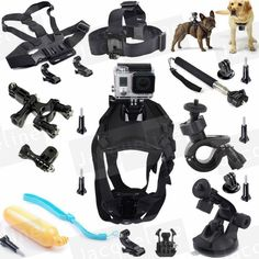 >> Click to Buy << Accessories Sports Dog Mount Harness Kit for GoPro Hero5 Hero 4 Go Pro Hero HD 3+ 3 Black Silver/SJCAM SJ5000/Eken h9r/SOOCOO #Affiliate