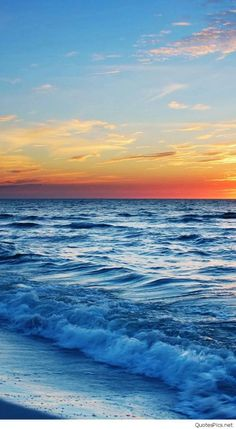 iPhone X Wallpaper Beach sunset and waves Taotao iPhone 6 Wallpapers HD 4k Download free
