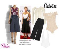 Como usar Culottes o pantalón corto con vuelo   Pinklia   Tu portal favorito para lucir bella y unica