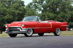 Eldorado… 1955 Cadillac convertible