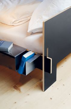 Designed by Christoffer Marten. Bed Shelf.