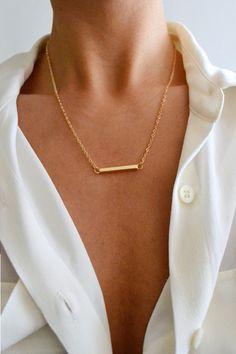 sbrngry: Bar Necklace from StyleAddict Lust darauf mit Schmuck Geld zu verdienen? www.silandu.de