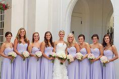 Megan : Zach   Eternal Refelctions Photography   Lavender Bridesmaid Gowns