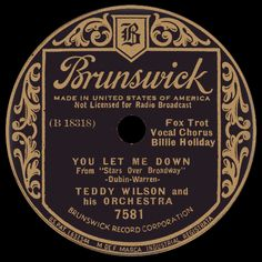 billie holiday - you let me down /// listen to it on…