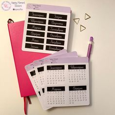 Excited to share this item from my shop: Greek Monthly calendar and respective monthly titles for 2019 Calendar Stickers, Journal Stickers, 2019 Calendar, Printable Stickers, Planner Stickers, Bullet Journal Monthly Calendar, Journal Paper, Sticker Paper, Some Fun
