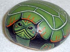 painted turtle rock