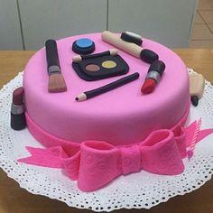 Torta Cosmeticos Dama
