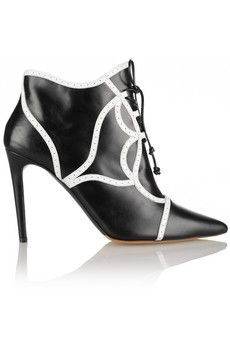 Tabitha Simmons Tinsley leather ankle boots | THE OUTNET