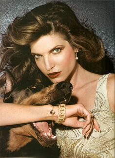 "Stephanie Seymour""Stephanie Seymour"",Photo France, June 2003Photographer : Todd Barry"