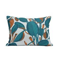 'Calathea' cushion, £65, Fanny Shorter (fannyshorter.com)