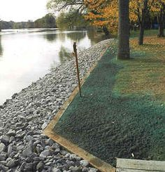 Rip rap, sometimes called a stone shoreline, is a cost-effective way to protect your shoreline from erosion. Description from…