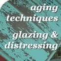 A list of tutorials: How to distress, age and antique furniture and more!