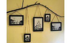 Branch photo display.  Thanks Emily!