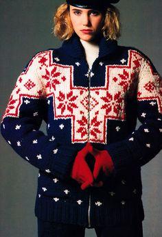 Elle Knitting, Elle magazine, September 1987.