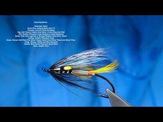 3 X Glenfarclas Flies Size 6 Salmon Flies