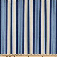 fabric.com Waverly Siene Stripe Indigo $10