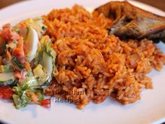 Jollof Rice...one of my fav. West African dishes that I loved while in DC