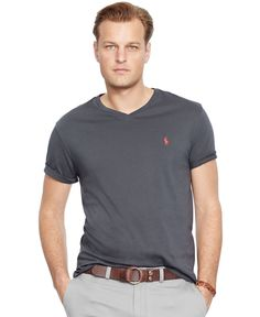Polo Ralph Lauren Big and Tall Classic-Fit Jersey Crewneck - T-Shirts - Men  - Macy\u0027s