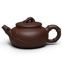 Zi Sha-Purple Clay Tea Pot-150ML-Bamboo Series-C - Tea Pot - Teaware Enjoy / Slow / Green