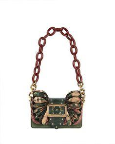 BURBERRY BRIDLE BABY RUFFLED SNAKESKIN SHOULDER BAG, ROSE PINK. #burberry #bags #shoulder bags #leather #pvc #velvet #