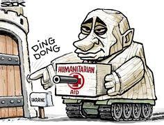 Sack cartoon: Ukraine   Star Tribune