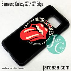 The Rolling Stones Band Logo Phone Case for Samsung Galaxy S7 & S7 Edge